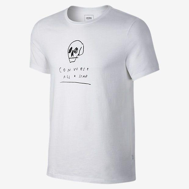 Converse Skull Illustration Men's T-Shirt