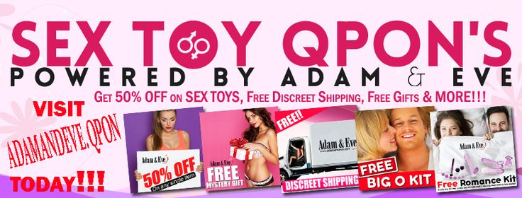 http://adamandeve.qpon  Sex Toy QPon's provides you with the best deals on top sex toys from Adam & Eve. Want verified coupons to get a new vibrator or stroker on the cheap? We've got you covered. With hundreds of coupon codes and testimonials, you'll be able to get the best discount available on your new sex toy. Browse our curated list of coupons and find the perfect deal for you!