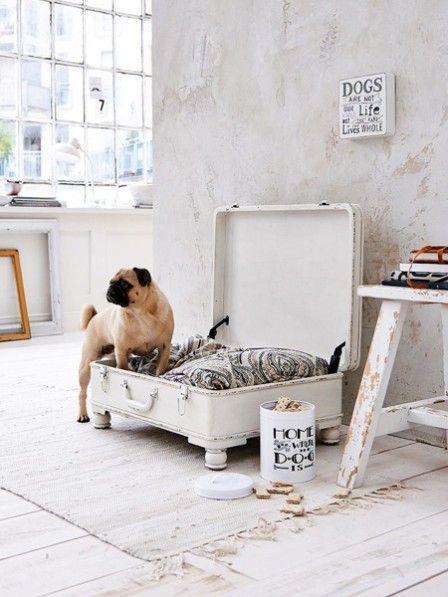 A new home for your four-legged friend  #friend #IdeenfürWohnaccessoires #legged