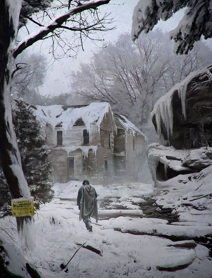 abandoned 'Winter' by LMorse.deviantart.com on @deviantART
