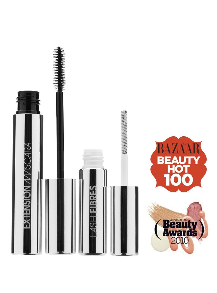 FIBRE LASH Brush on False Lashes Mascara  This stuff is crazy good!