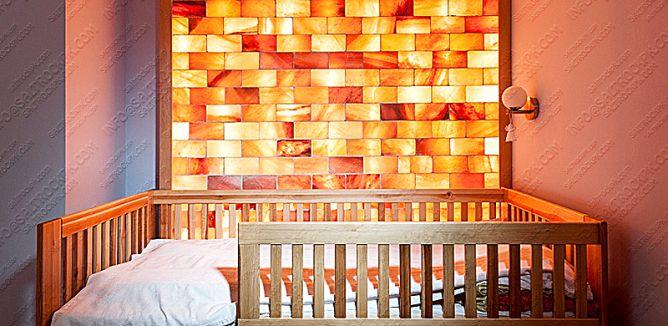 Salt Tiles Bricks Blocks Construction In 2020 Spa Decor Wall Himalayan Salt Lamp
