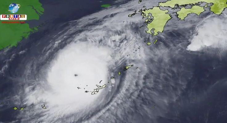 (4/out 9h) A região central do Japão está na rota do Tufão Chaba, após sua passagem por Okinawa. Confira os detalhes.