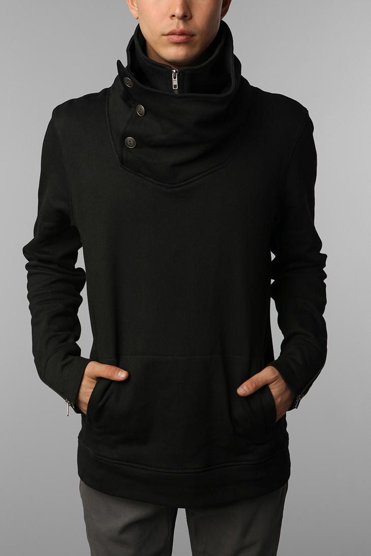 LAB:CO by B:SCOTT High-Neck Sweatshirt UrbanOutfitters --- well i think its for