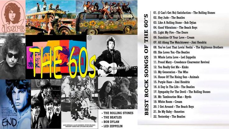 H/T @futuresonics > Best Rock Songs Of The 60s | Rock Music Of All Time