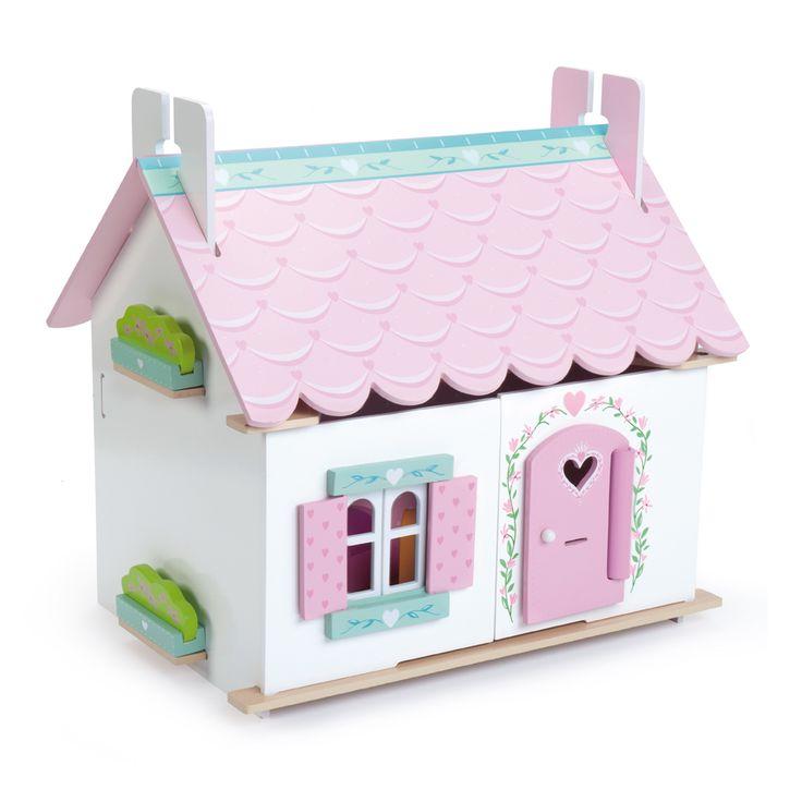 Le Toy Van Holz Puppenhaus 'Lily´s Cottage' inkl. Möbel 14-teilig - im Fantasyroom Shop online bestellen oder im Ladengeschäft in Lörrach kaufen. Besuchen Sie uns!