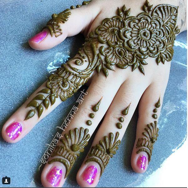 Henna Qaisar Designs Instagram : Design by sonikashennaart instagram henna hand