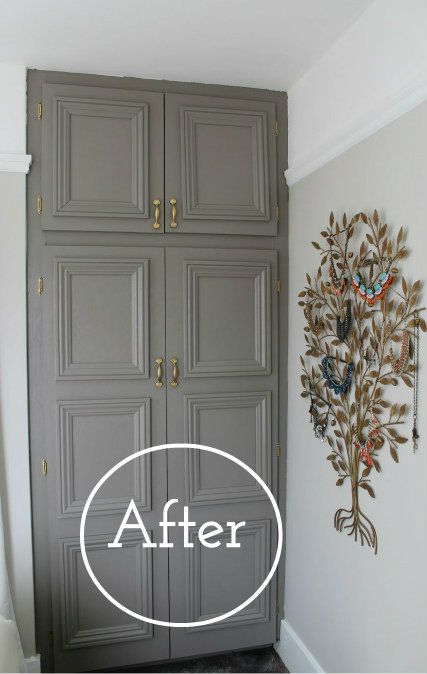 This makeover will leave you looking for an old closet to get started on!