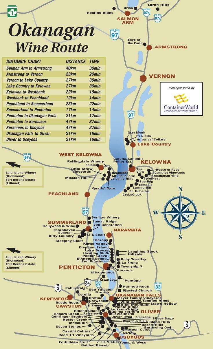 Best Wineries in Kelowna | Sommelier Emily Walker's South Okanagan Wine Tour Itinerary | To Die ...