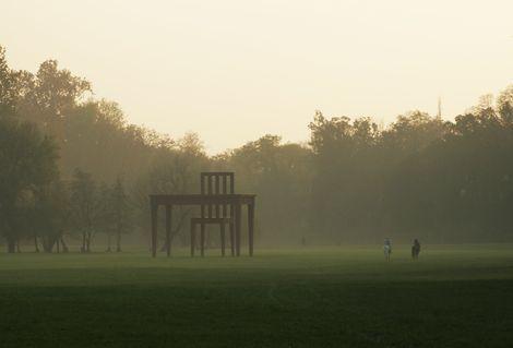 """Giancarlo Neri, """"Lo Scrittore"""" -  Monza - Villa Reale on ArtStack #giancarlo-neri #art"""