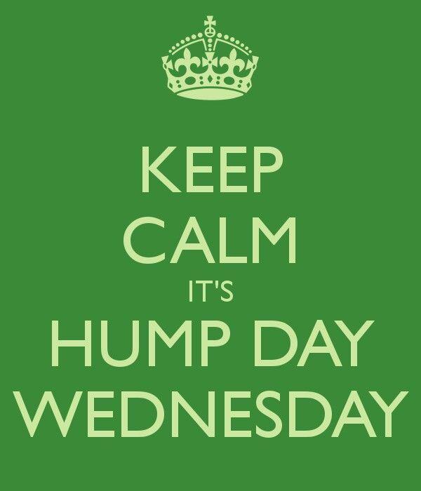 Hump Day Wednesday #KeepCalm