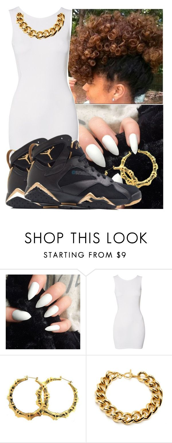 """""""Take ya J's and tell you to kick it where a footlocker is"""" by babygirl-10 ❤ liked on Polyvore featuring John Zack, Ben-Amun, women's clothing, women, female, woman, misses and juniors"""