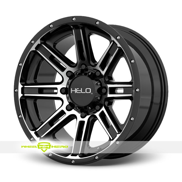 Helo HE900 Machined Black Wheels For Sale & Helo HE900 Rims And Tires