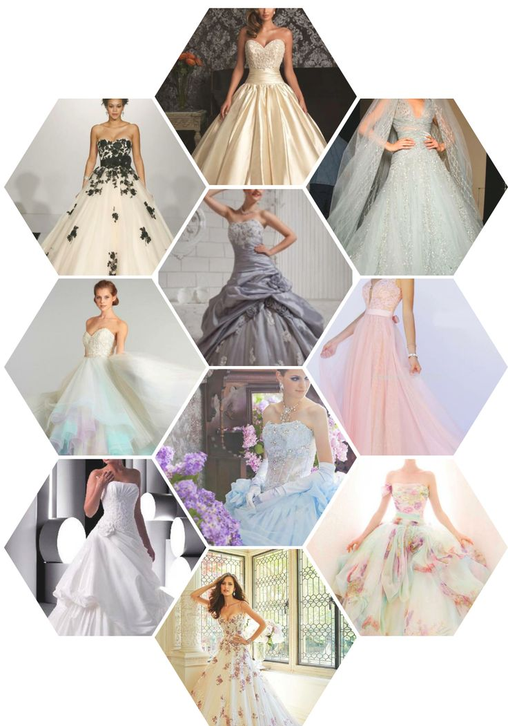Traditional white? Ethereal off-white? A new breathtaking colorful wedding dress? Narrow down your options with this list. Check this list for more tips to help choose your wedding dress: https://goo.gl/K3z5lC