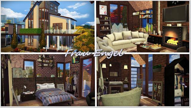Autumn Street 129 house at Frau Engel via Sims 4 Updates