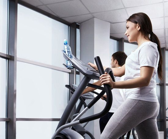 This kick-ass 20-minute elliptical workout keeps the pace quick and the resistance high to offer you a solid workout in a short period of time.