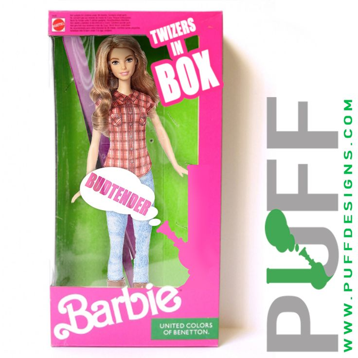 Bud tender Barbie follow if you like.  www.puffdesigns.com #puffdesigns #puff  #weed #marijuana #420 #haze #kush #hazeporn #thc #hightimes #stoner #indica #sativa #187 #cannabis #lifestyle #motivation #weedporn #amazing #weedgram #awesome #repost