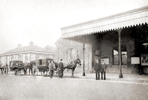 Worthing Station 1880c