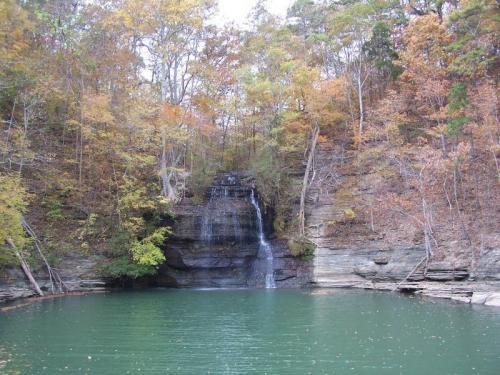 Cooper Falls J P Coleman State Park Iuka Mississippi
