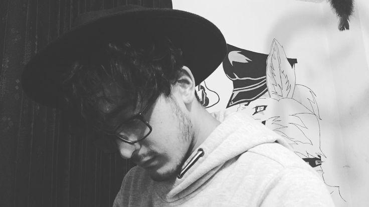 Foto blanco y negro #grunge  omega