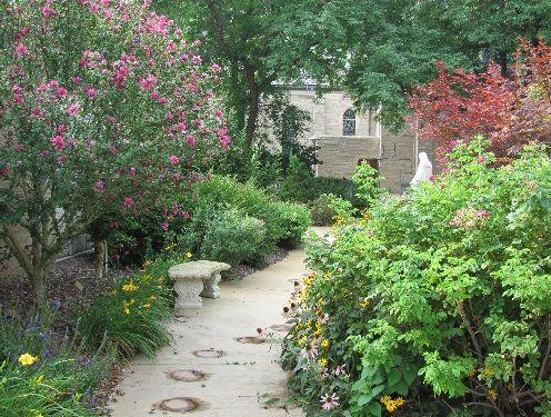 Rosary garden at st mary 39 s garden pinterest gardens for Rosary garden designs