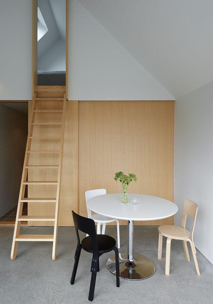 House Design Connected to Natural Landscape: Summerhouse Lagnö : Loft Interior Decoration Design With Minimalist Ideas