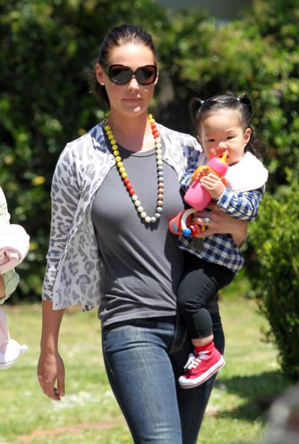 Top 10 Celebrities with Adopted Children | my mind is so blown right now by this list | Katherine Heigl