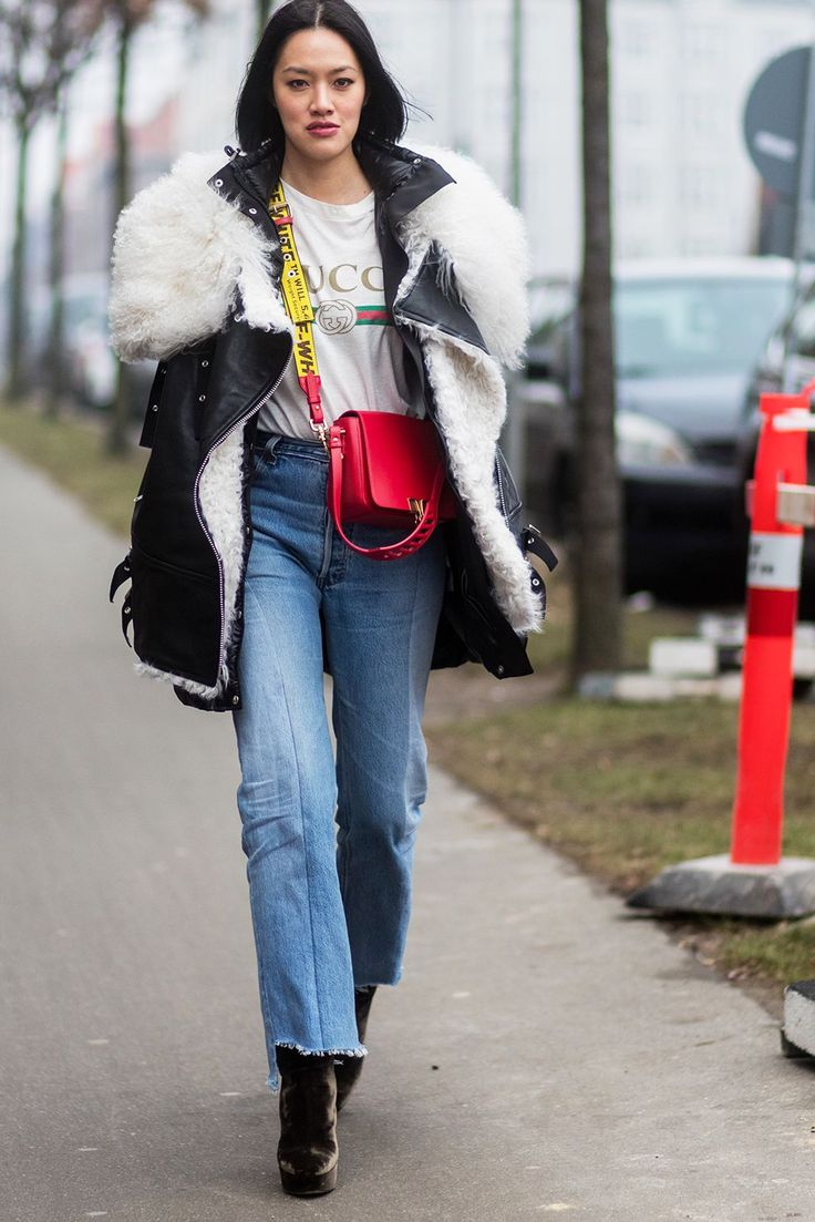 #whowhatwear What To Wear When You're Cold, But You're Also Fashion+#refinery29