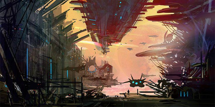 Sky Port by RichardDorran.deviantart.com