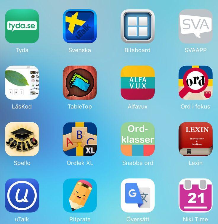 IKTsidan tipsar om över 50 appar för både yngre och äldre nyanlända barn och ungdomar. Flera har jag redan tipsat om men kanske hittar du något som passar vuxna.