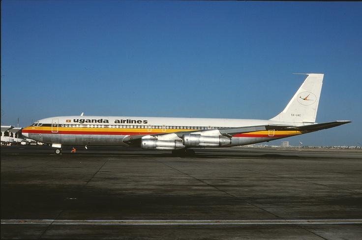 Uganda Airlines Boeing 707
