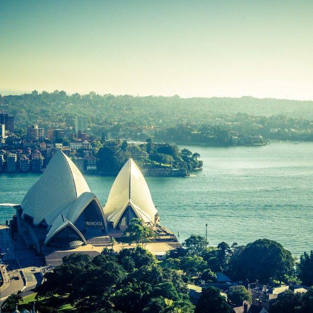 Blown away by the beauty of the #Sydney Opera House @Sydney Australia