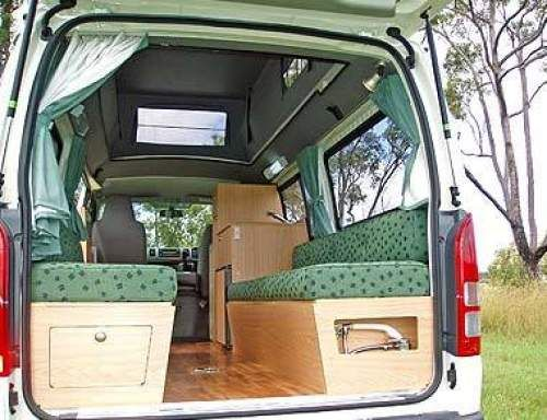 2005 Used TOYOTA HIACE CAMPERVAN MOD) SUNCAMPER SORRENTO VAN Car Sales Sydney / Hunter Valley NSW As New $39,800