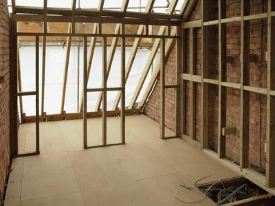 Can you build attic flooring on top of existing joists? If not, is there a way to strengthen the joists in order to lay down a floor?