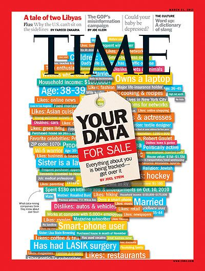 Your Data For Sale   Mar. 21, 2011