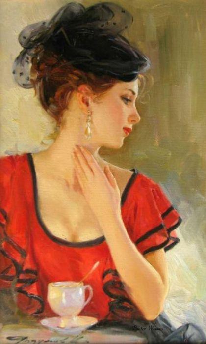 Mitte XX Jahrhundert, wie wunderschön waren die Damen damals!!!