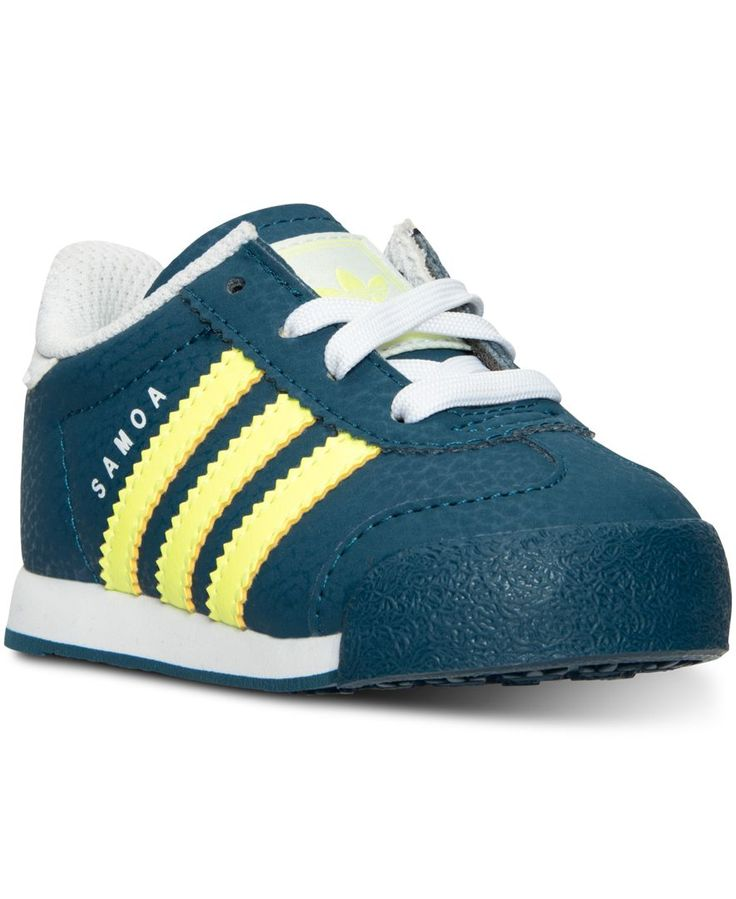 adidas Toddler Boys\u0027 Samoa Casual Sneakers from Finish Line - Finish Line  Athletic Shoes - Kids \u0026 Baby - Macy\u0027s