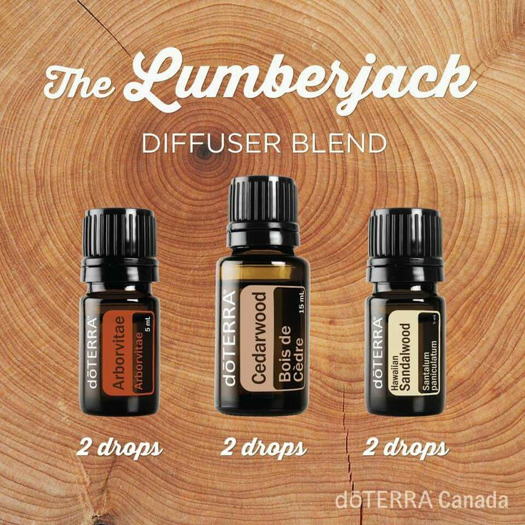 The Lumberjack Diffuser Blend 2 drops Arborvitae 2 drops Cedarwood 2 drops Sandalwood What a beautifully calming blend! www.mydoterra.com/essentialoilswithbetsy