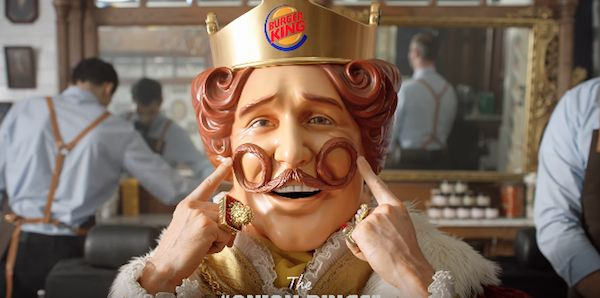 Burger Kings Mascot Gets A Clean Shave To Raise Awareness For Movember