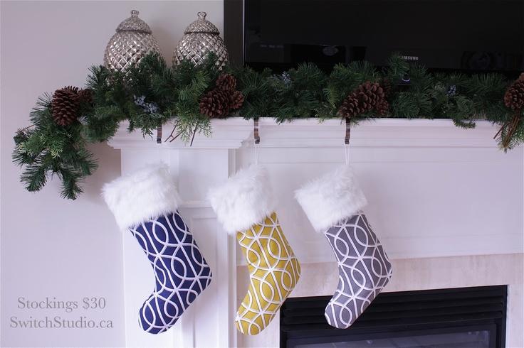 Switch Studio: Modern Christmas Stockings