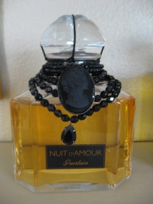 Nuit D'Amour Pure Perfume. 17 damn ounces of pure parfum; Guerlain. One day it will be mine
