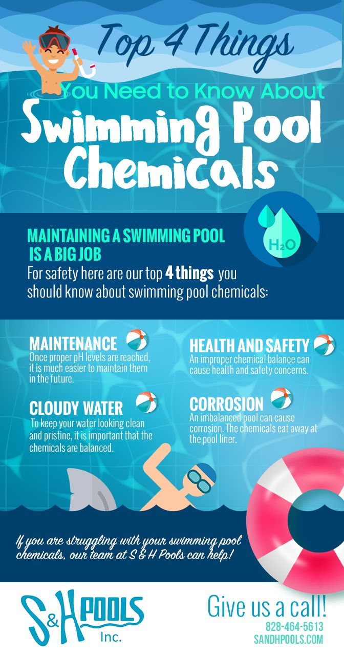 Top 4 Things You Need Know About Swimming Pool Chemicals   All About ...