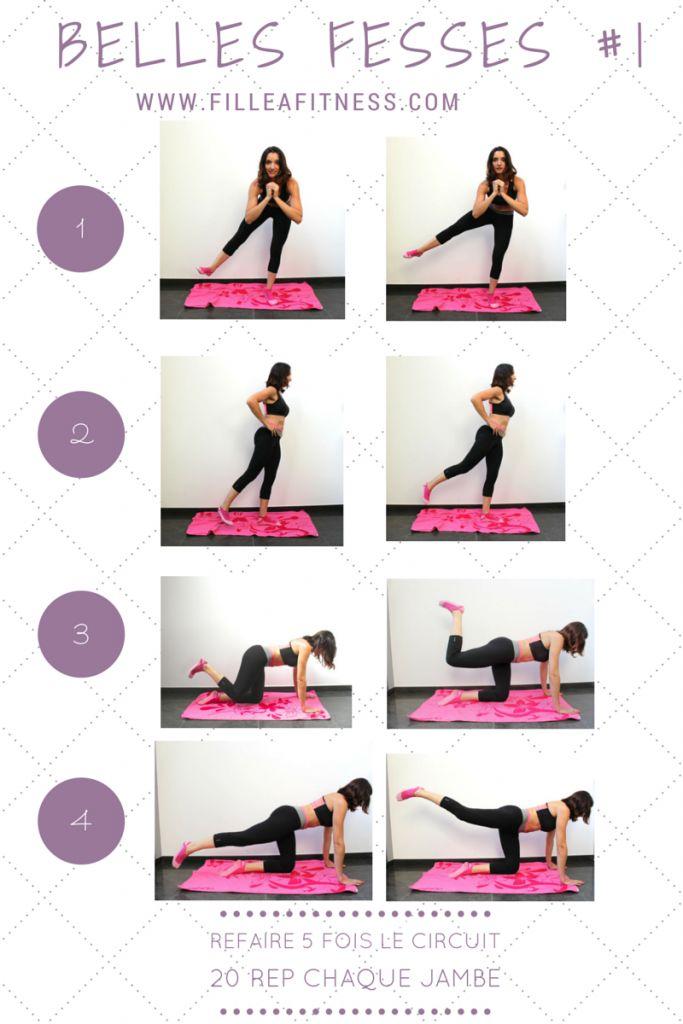 programme fitness spécial fesses