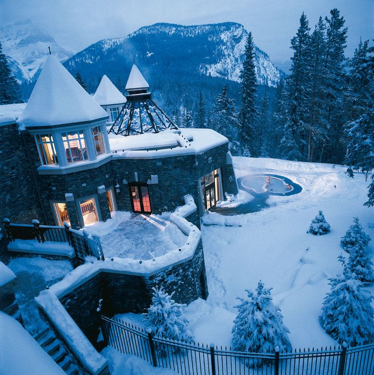 Best Places In The Us To Snowboard: Willow Stream Spa At The Fairmont Banff Springs