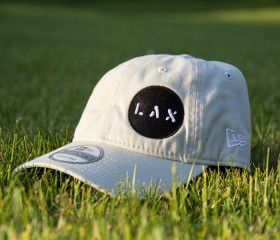 6x6 Lacrosse Designer LAX @neweracaps lacrosse hat (Stone)