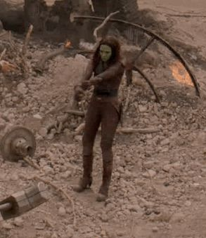 "Gamora works a mean Butter Churn: | ""Guardians Of The Galaxy"" Outtake Reveals A Surprising Dance Off"