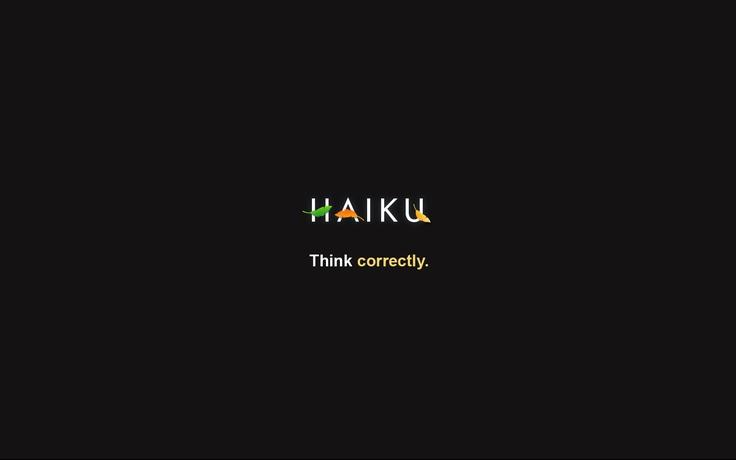 #Haiku