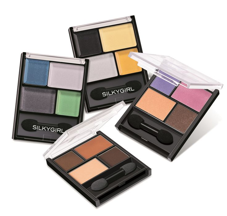 BLOCKBUSTER COLOR PALETTE SILKYGIRL - - classic, dramatic and long lasting