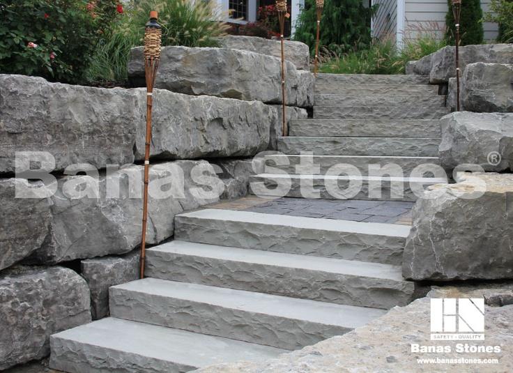 Steps/Risers - Banas Grey