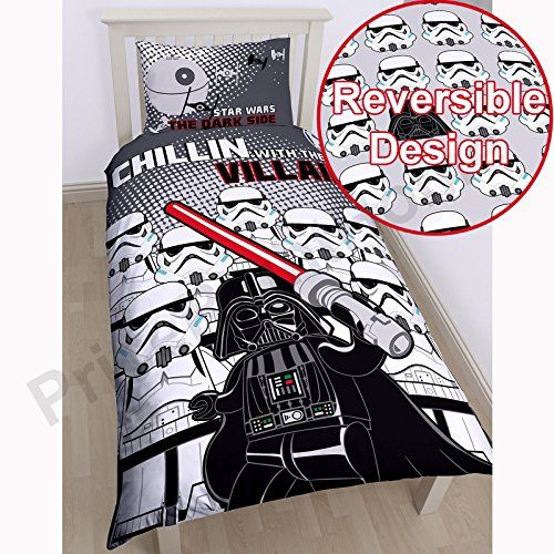 Lego Star Wars Villains SingleUS Twin Duvet Cover and Pillowcase Set -- You can find out more details at the link of the image.